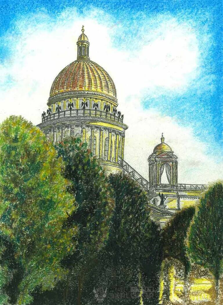 St. Isaac's Cathedral in St. Petersbug