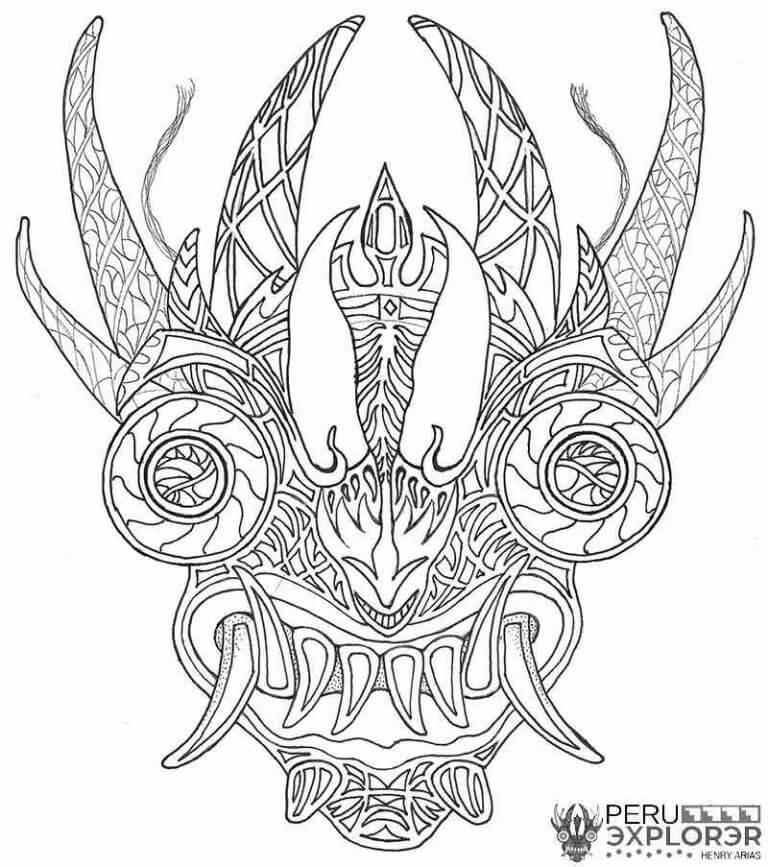 Carnival's devil