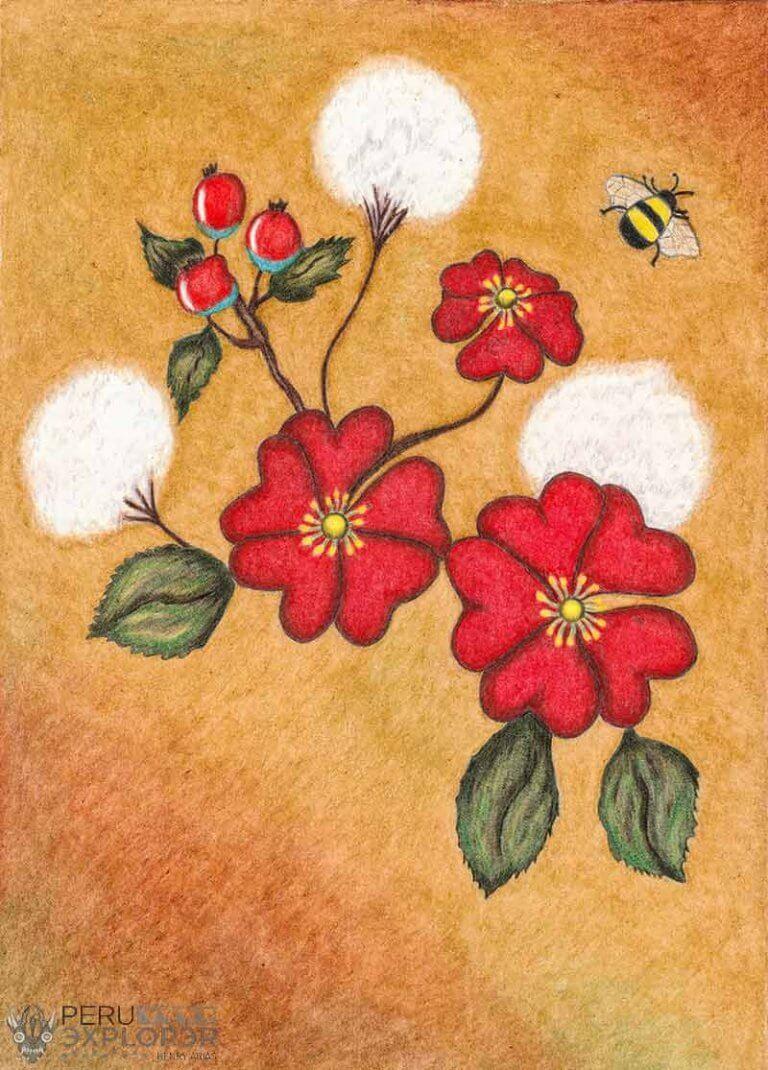 Heart's flowers